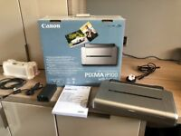 Canon iP100 inkjet printer with battery