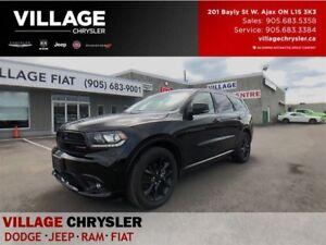 2017 Dodge Durango R/T|Blacktop|Safety Tec|Sunroof|Leanter|Nav|R