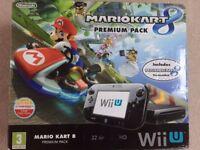 Nintendo Wii U console Premium pack with pre-installed Mario Kart 8