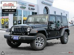 2015 Jeep WRANGLER UNLIMITED Rubicon *BEST RESALE VALUE ON THE M
