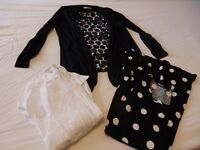 TWO BAGS OF LADIES CLOTHES - Sizes 14 and 16