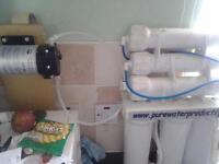 Window Cleaning 450 RO setup.