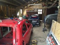 Workshop/barn/storage wanted for race car fabrication