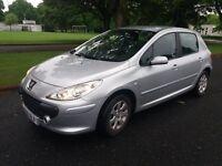 2006 Peugeot 307 S 1.6 16V Hatchback, service history, new MOT 06/18 in good condition