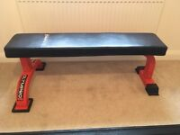Olympro flat weights bench