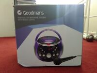Goodmans Portable Karaoke Machine