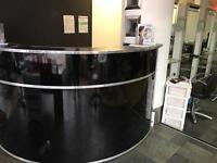 Large reception desk for sale