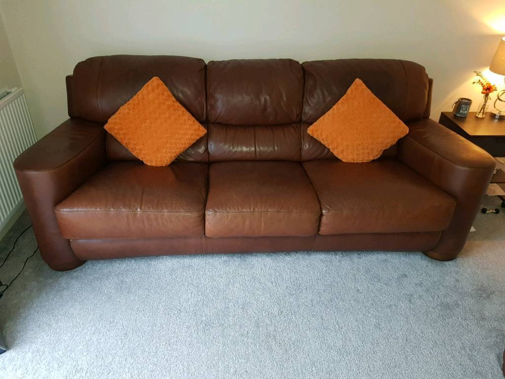 3 and a 1 Couch And Chair For Sale