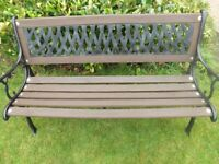Cast Iron Garden bench £45