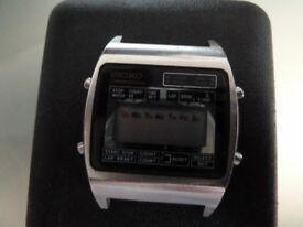 Vintage Seiko LCD Watch M929-5010 Chronograph