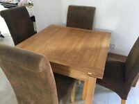 Barker & Stonehouse Oak Extending Table