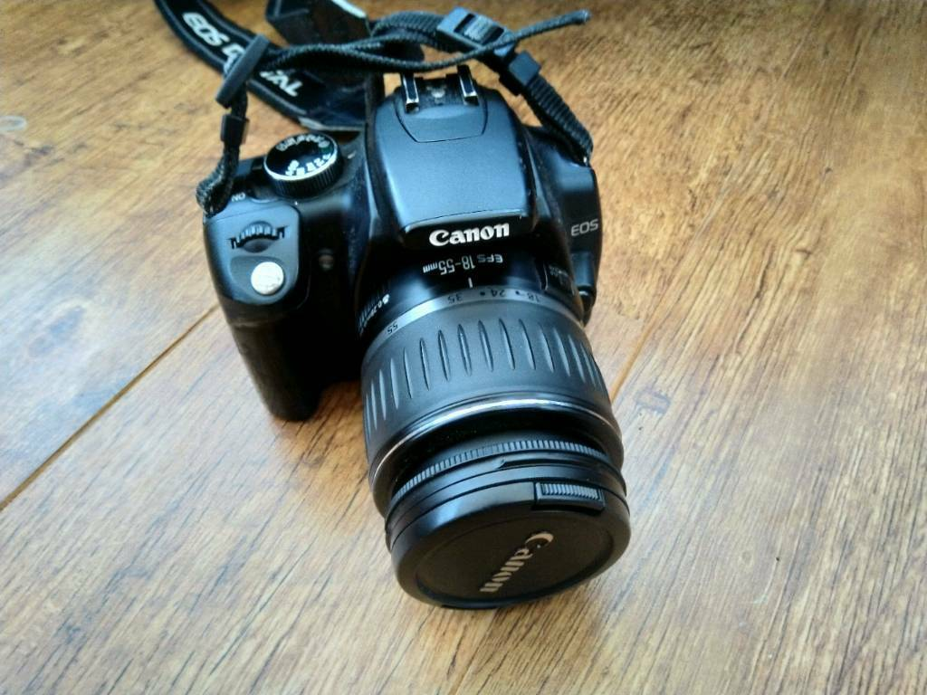 Canon EOS350D Digital SLR camera with 18-55mm canon lens | in Crawley, West  Sussex | Gumtree