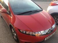 2006 Honda civic 1.8 se 5 door . (54000 MILES)