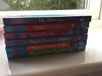 Peppa Pig Board Books x 6 Excellent Condition