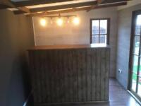 Garden Bar/Outdoor Bar Shed, Garden Pub Bar
