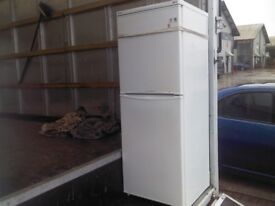 indesit white fridge freezer great working condition and clean