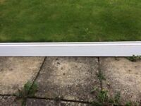 White MDF painted skirting board - free to collect