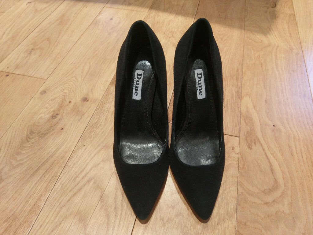 cf88fc1be Brand new Black Suede heels Dune - size 36, uk 3 £25 | in Holloway ...