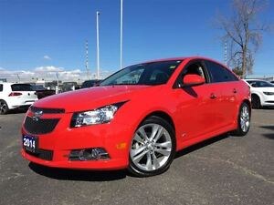 2014 Chevrolet Cruze LTZ**RS**LEATHER**SUNROOF**BLUETOOTH**BACK