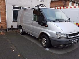 Ford Transit 2005 LX Electric Pack Silver 12 months MOT
