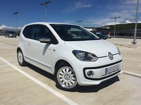 VW Up! Special Edition White
