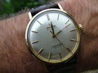 100% Genuine RARE DIAL 1964 Omega Seamaster DeVille Automatic Vintage 34mm Watch WARRANTY