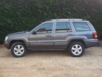 JEEP GRAND CHEROKEE OVERLAND LIMITED EDITION 4.7 V8 260 BHP MAY PX