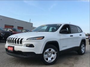 2017 Jeep Cherokee SPORT**BLUETOOTH**5.0 TOUCHSCREEN**