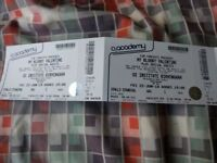 My bloody valentine - x 2 tickets - Birmingham 22nd June. (Tulse hill) face value / £60 ono