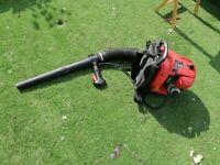Arebos Petrol Leaf Blower garden leaf debris blower 1000W with 30cc petrol engine.