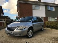 Chrysler Grand Voyager 2.8 CRD Limited 5dr - 7 Seater - Silver - STO & GO