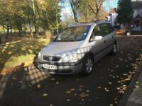 2002 AUTOMATIC VAUXHALL ZAFIRA ELEGANCE 7 SEATER **LONG MOT TILL JUNE 2018 + DRIVES GOOD**