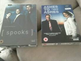 DVDs boxed sets and individual