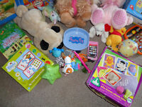 Toddler toys, games, puzzles