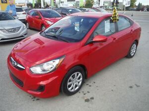 2012 Hyundai Accent GL Parfait pour Etudiant