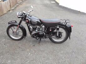 VINTAGE AND CLASSIC MOTORBIKES WANTED