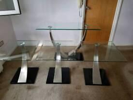 Great bargain 4 elegant side tables.