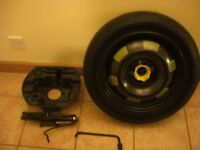 Peugeot 308 Spare Wheel, Jack and Brace
