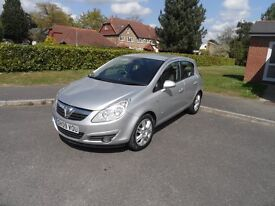 Vauxhall Corsa 1.4 Design Automatic 2009/09 5door, silver, full history, 2 owners, lady owned