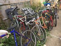 BMX mountain bike job lot