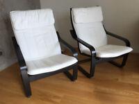 IKEA Poang chairs (x2)