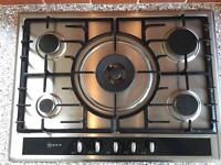 Neff hob and extractor