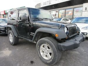 2010 Jeep Wrangler MOUNTAIN Trailrated 4X4 ($79 WKLY. 2 Doors, m Gatineau Ottawa / Gatineau Area image 2