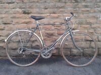 Retro Raleigh MERLIN Road Bike Hybrid l'eroica 22.5cm Frame Brookes MINT Condition