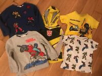 Transformers clothing bundle age 2-4 (H and M)