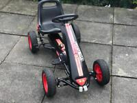 Black and Red Pedal Go Kart (excellent for Christmas)
