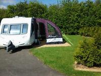 Sunncamp Ultima Platinum 390 caravan awning