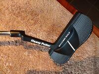 Boccieri Golf Heavy putter - mid weight - J2 - Mint - must see