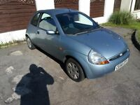 56 Plate Ford KA. 95k miles, Good condition, Drives very well. MOT July, Bargain to clear just £225.