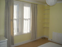 Large room for single or couple until Mid March. Walking distance to centre & station